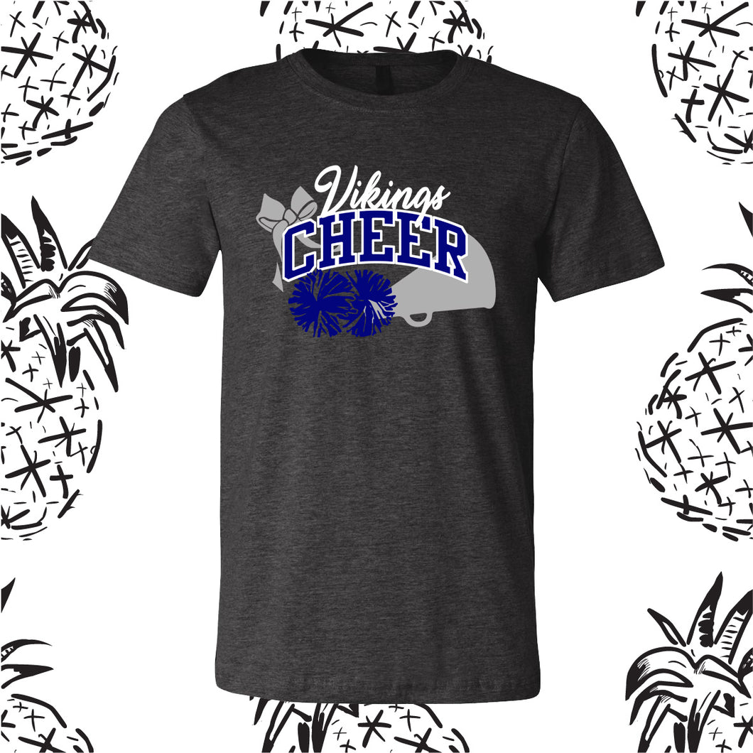 Vikings Cheer with Bow Tee
