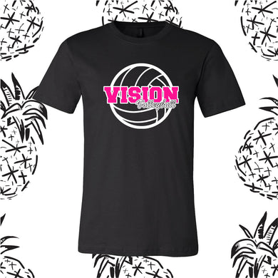 Vision Volleyball Logo Tee