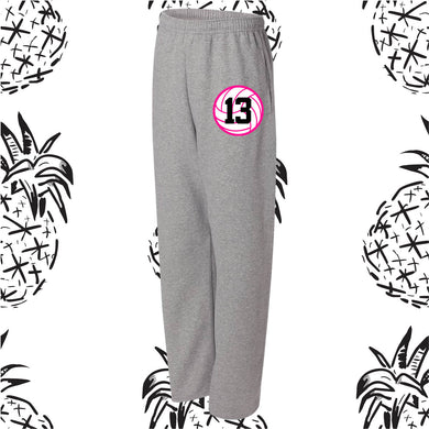 Vision Volleyball Open Bottom Sweatpants