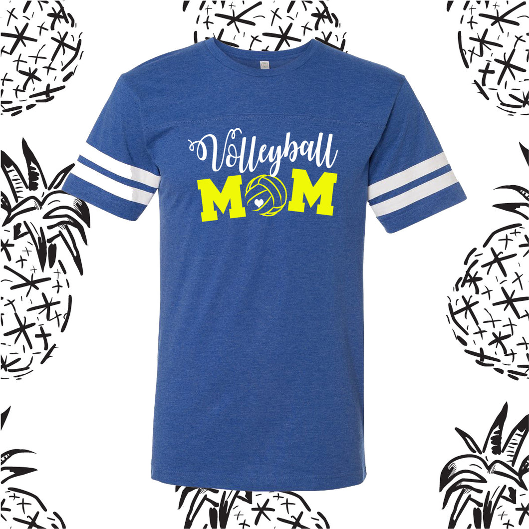 Volleyball Mom Game Day Tee