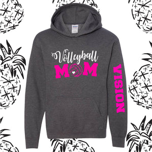 Vision Volleyball Mom Hooded Sweatshirt