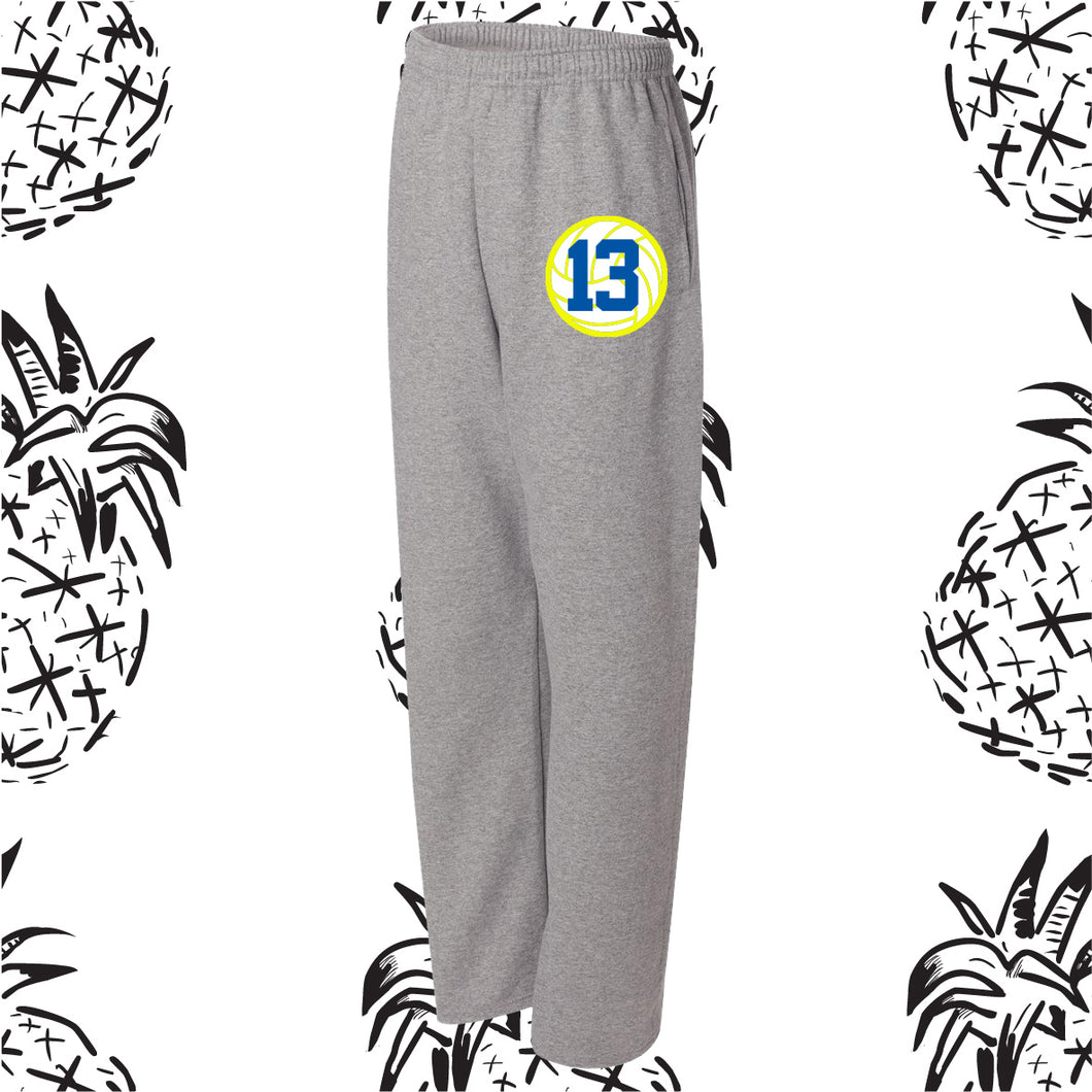 Somonauk Volleyball Open Bottom Sweatpants