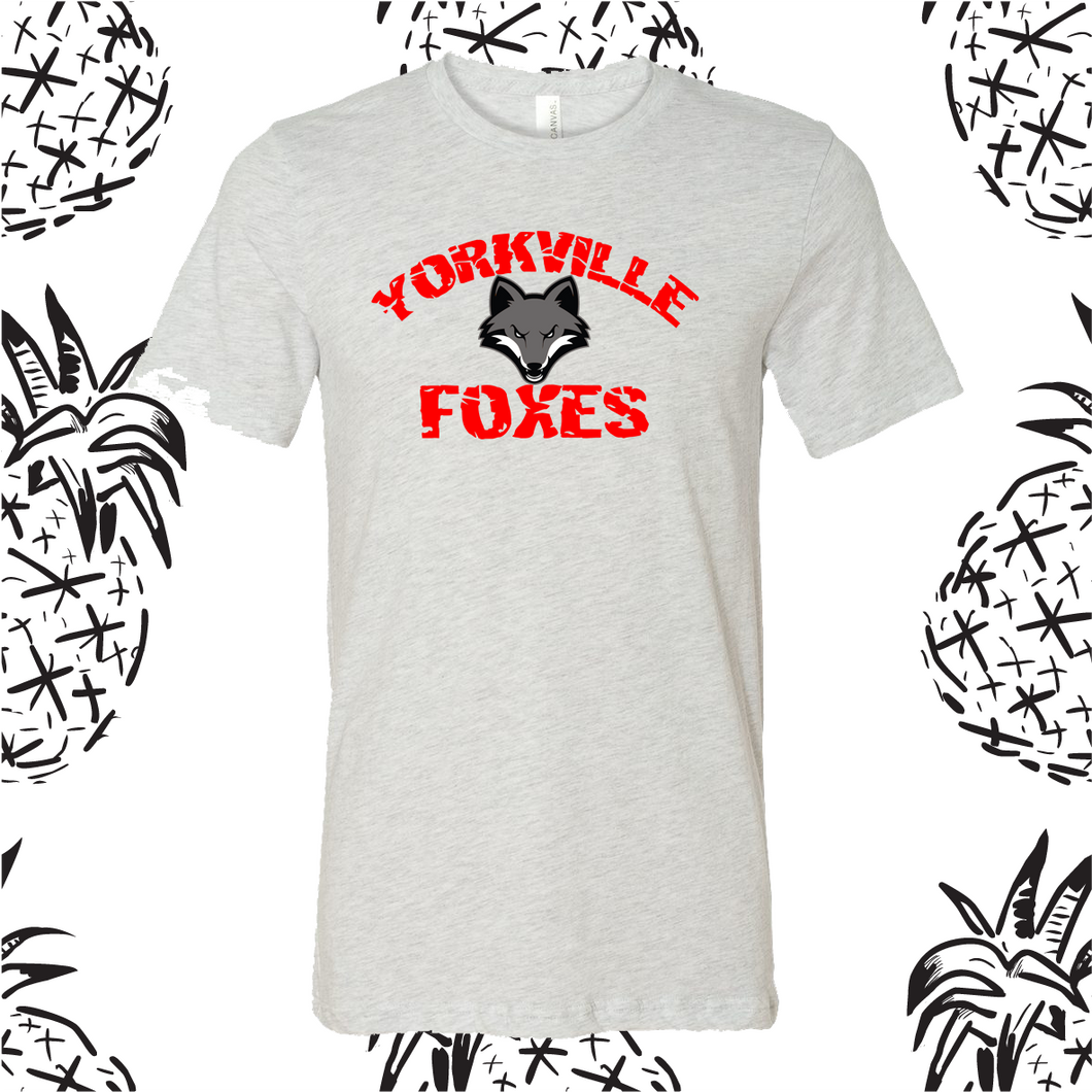 Yorkville Foxes Mascot Tee