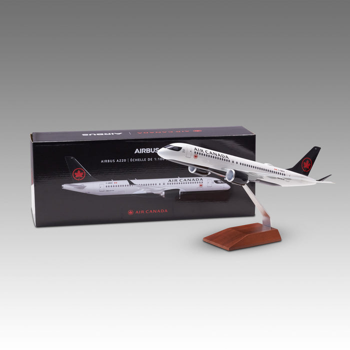 Air Canada A220-300 Aircraft Model in 1/100 Scale