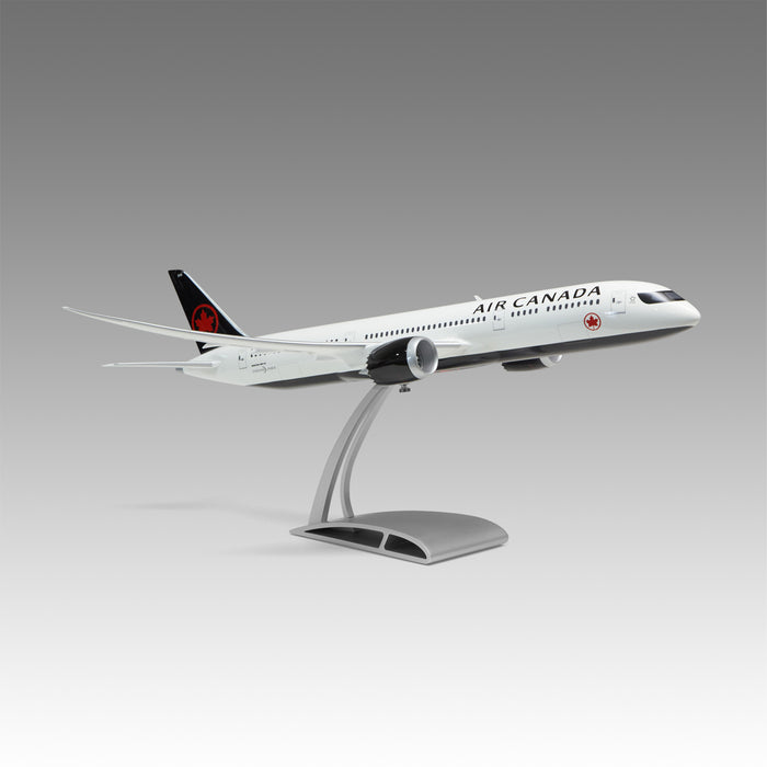 Air Canada 787-9 Aircraft Model 1/100 Scale with Airfoil Base