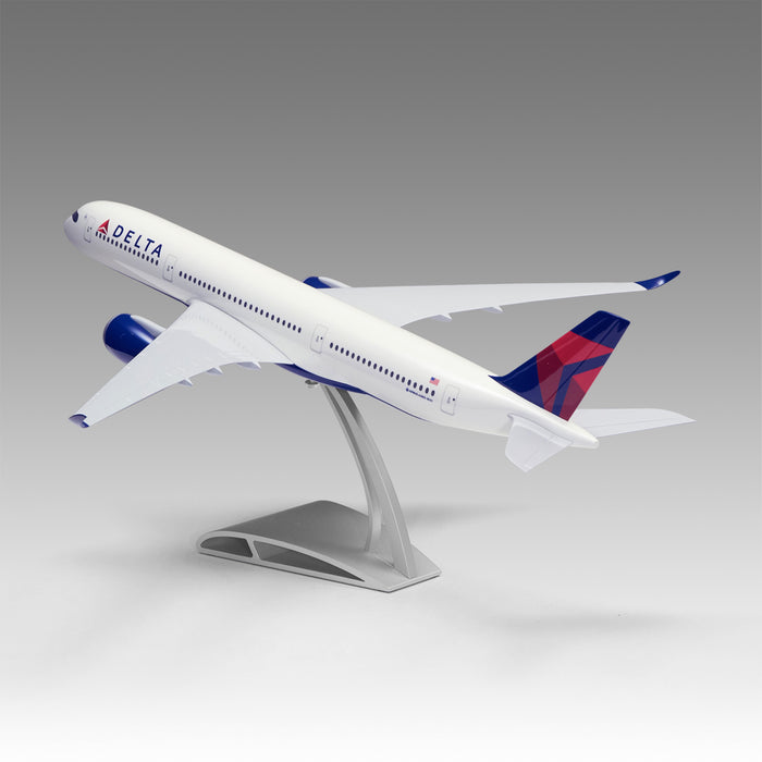 Delta A350 in 1/100 scale with Airfoil Base