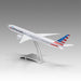 American Airlines 777-300ER in 1/144 scale with Airfoil base