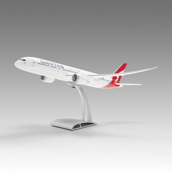 Qantas 787-9 in 1/144 scale with Airfoil base