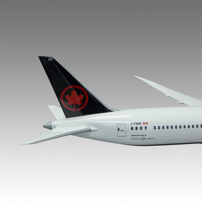 Air Canada 787-9 Exhibit Model in 1/50 Scale