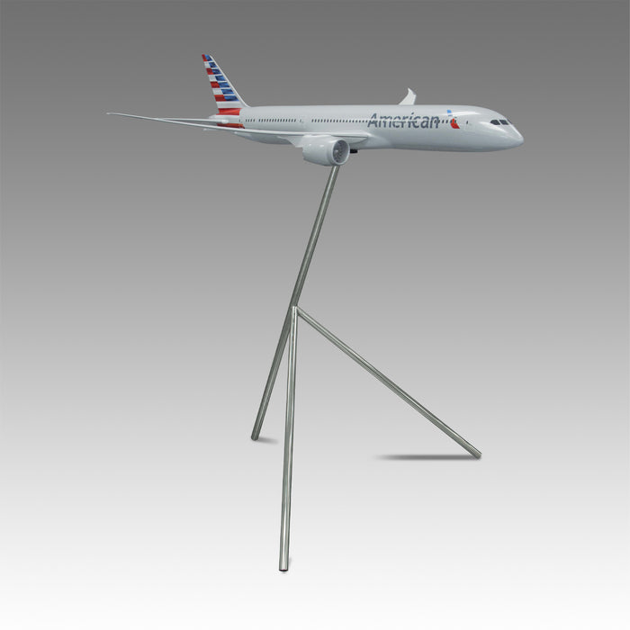 American Airlines 787-9 Exhibit Model in 1/50 Scale