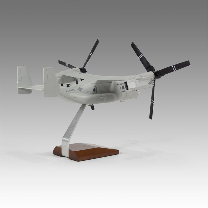 US Marines CMV-22 Osprey Military Aircraft Model in 1/55 Scale