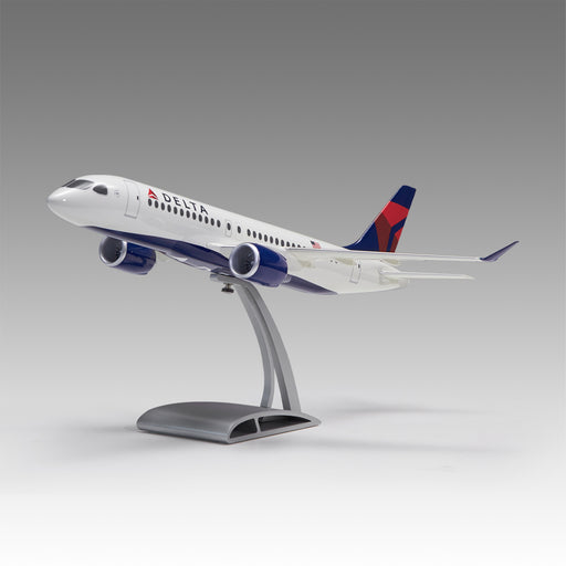 Delta A220 Aircraft Model in 1/72 Scale with Airfoil base