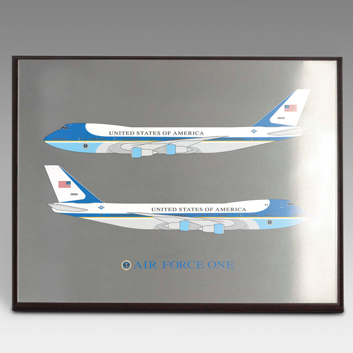 Air Force One Plaque