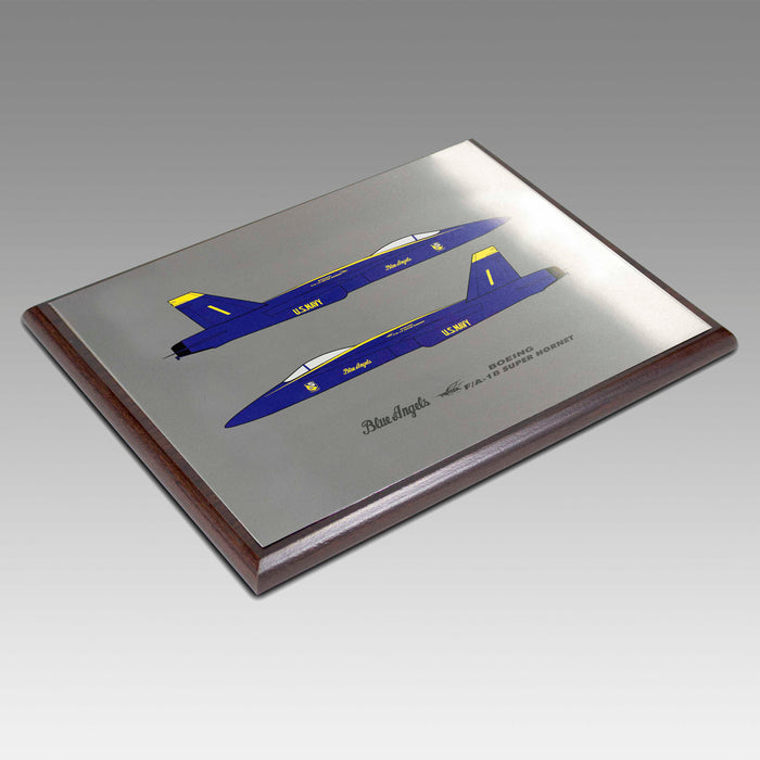 Military Aircraft Plaque