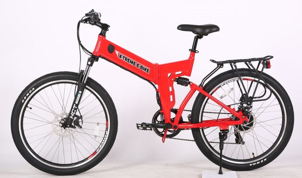 X-treme xcursion elite electric bike red