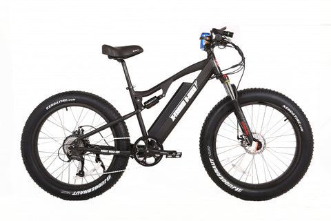X-treme Rocky Road fat tire 48 volt electric bike