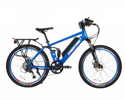 x-treme rubicon electric bike in blue