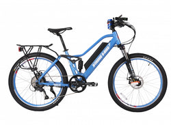 48v electric e bike baby blue