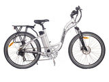 x-treme electric bike trail climber elite in aluminum