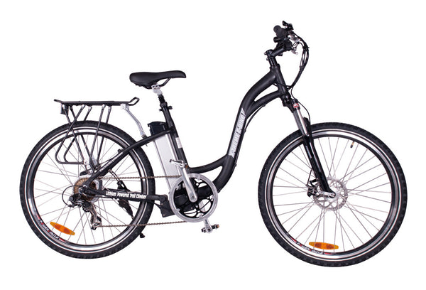 xtreme trail climber elite electric bikes in black
