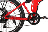 xcursion elite electric bike in red