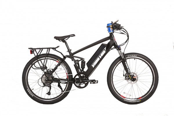 black xtreme rubicon 48 volt electric bike