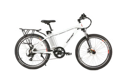 Xtreme trail maker 24 volt electric bike in white