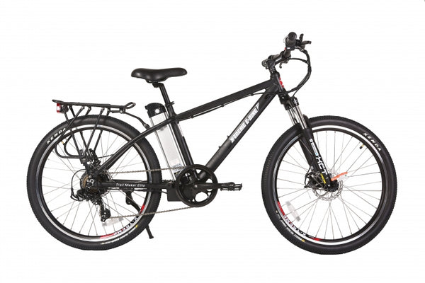Xtreme trailmaker elite 24 volt electric bike black