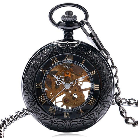 MadBurner Steampunk Fashion Pocket Watch