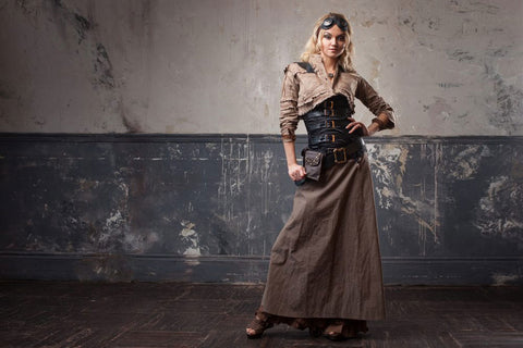 MadBurner Steampunk Fashion Dieselpunk Example Outfit