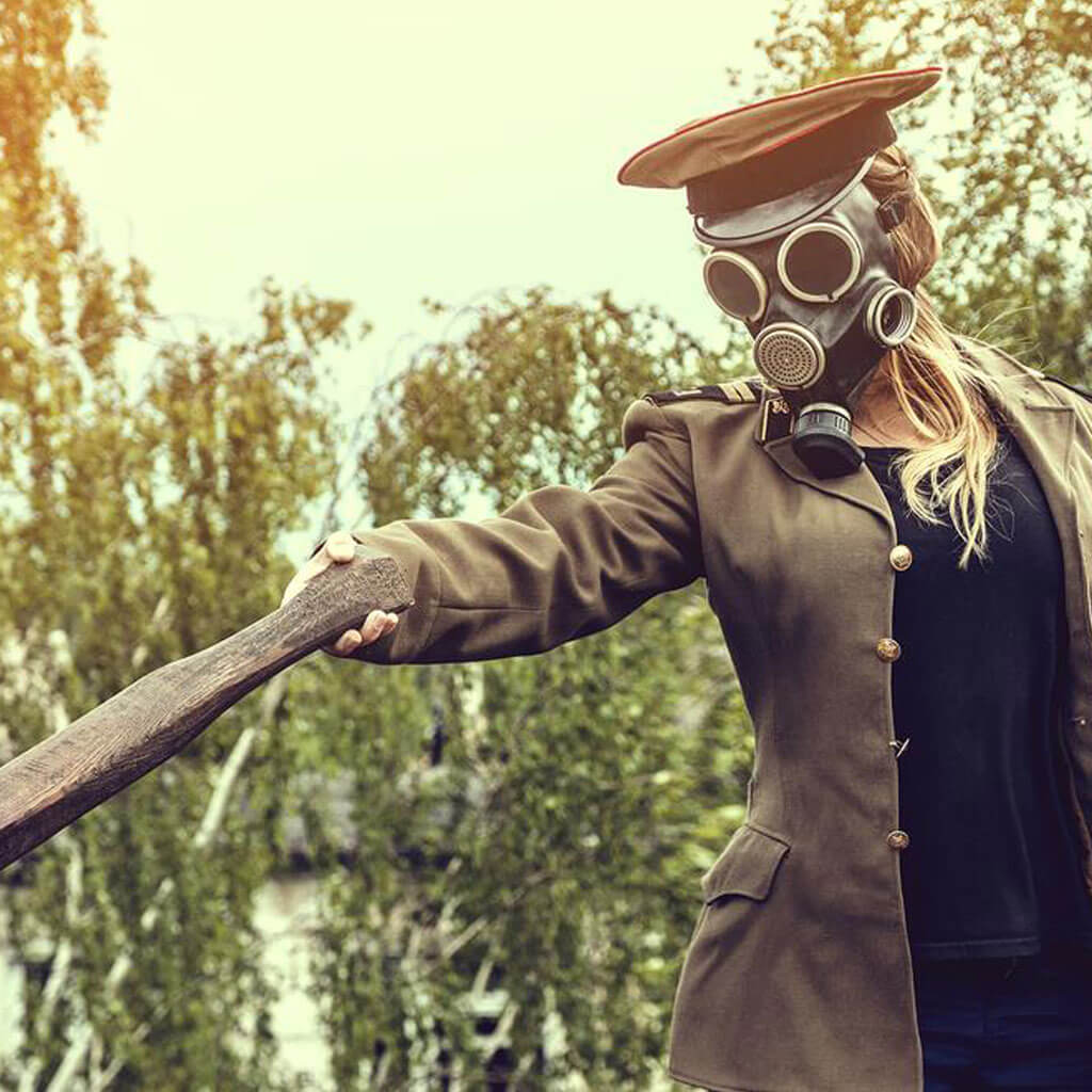madburner steampunk fashion burning man dieselpunk woman