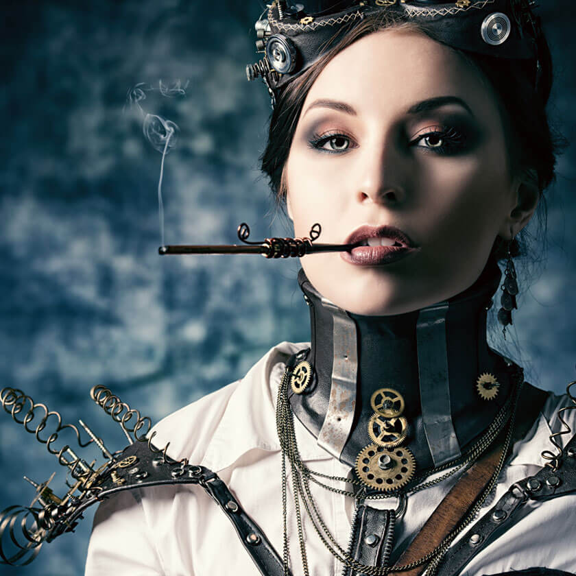 madburner steampunk fashion burning man women
