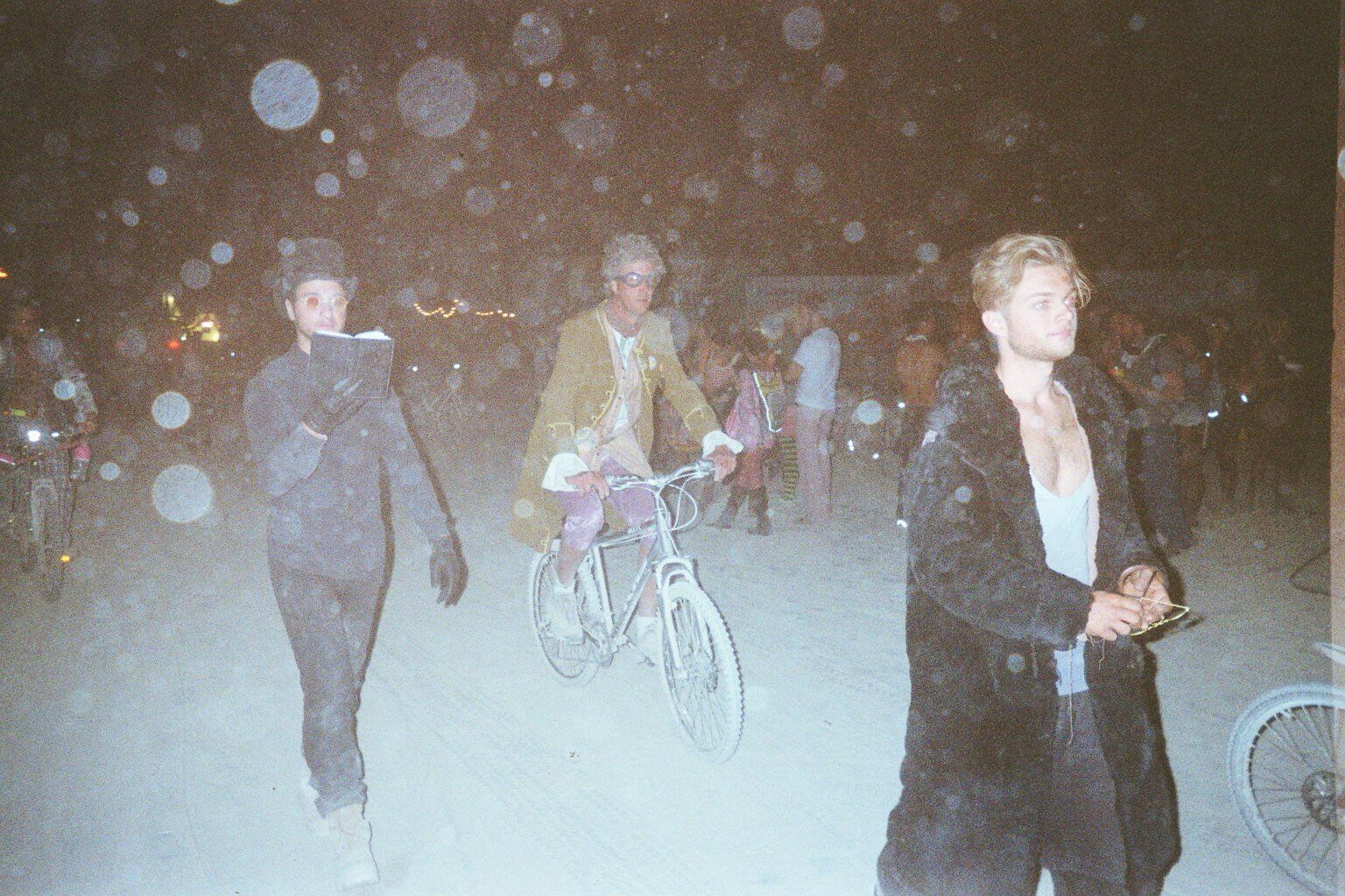 Madburner Julian (right) Burning Man 2012 Playa