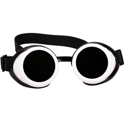 MadBurner Black and White Goggles