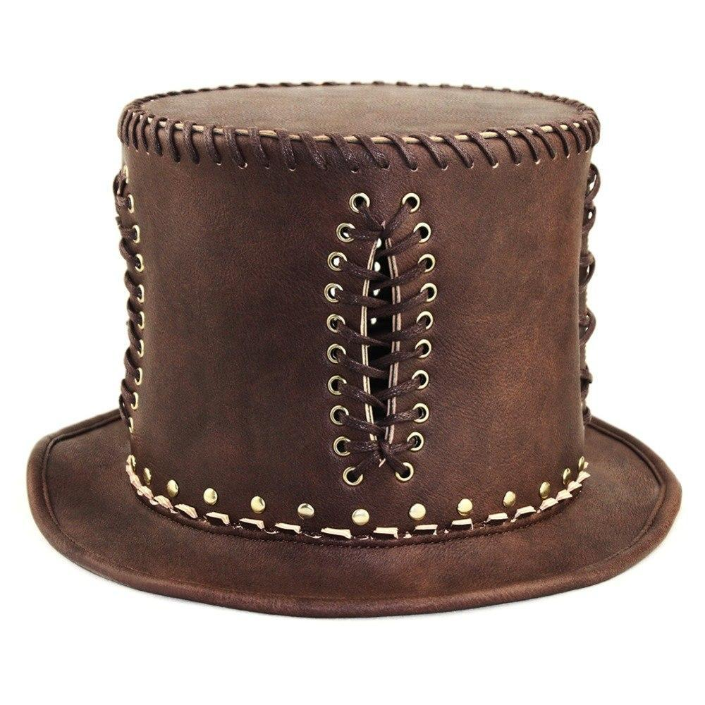 MadBurner Brown Fedora with Goggles