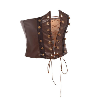 MadBurner Brown Steampunk Corset