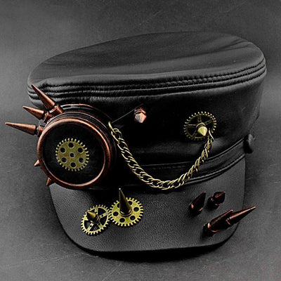 MadBurner Cog and Gears Military Cap