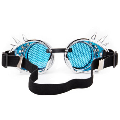 MadBurner Electric Blue Kaleidoscope Glasses