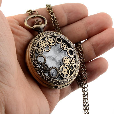 MadBurner Exposed Pocket Watch