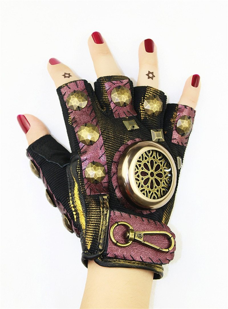 MadBurner Fingerless Black Glove
