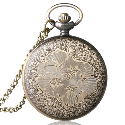 MadBurner Golden Pocket Watch