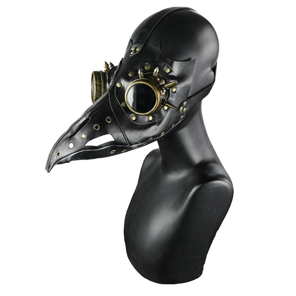 MadBurner Gothic Black Bird Mask