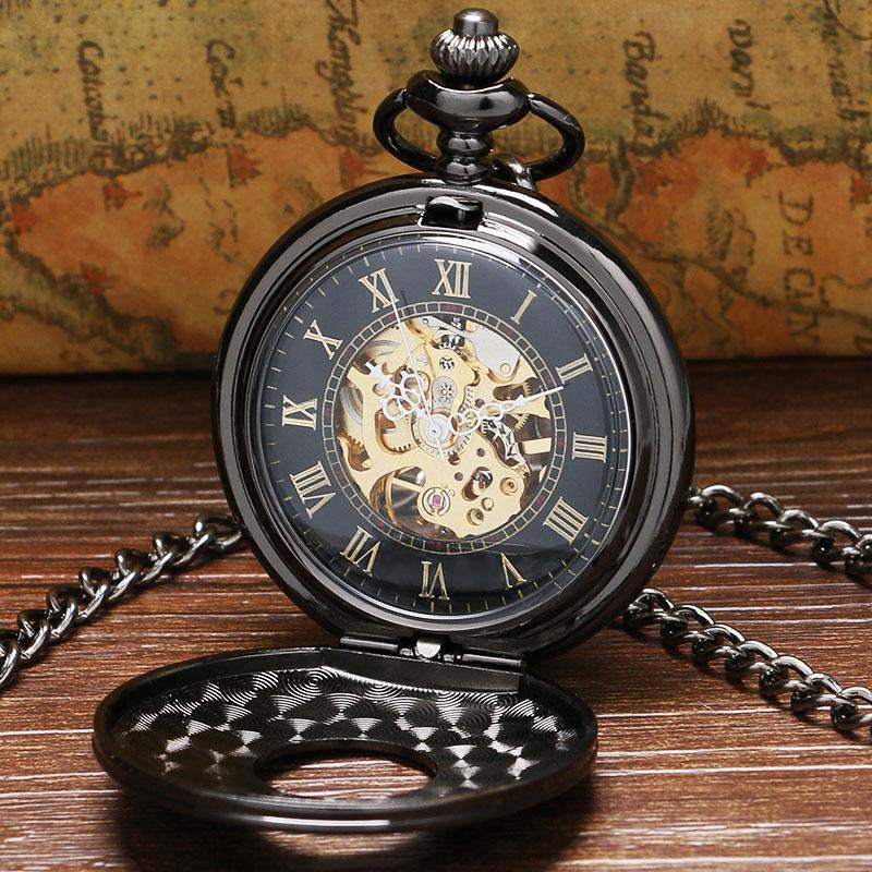 MadBurner Gothic Steampunk Pocket Watch
