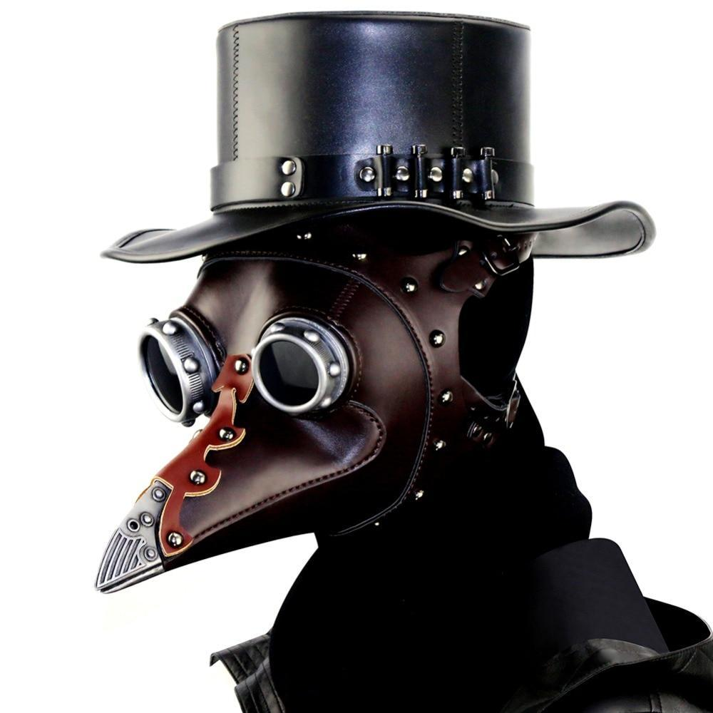 MadBurner Leather Steampunk Hat