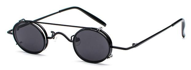 MadBurner Oval Retro Sunglasses