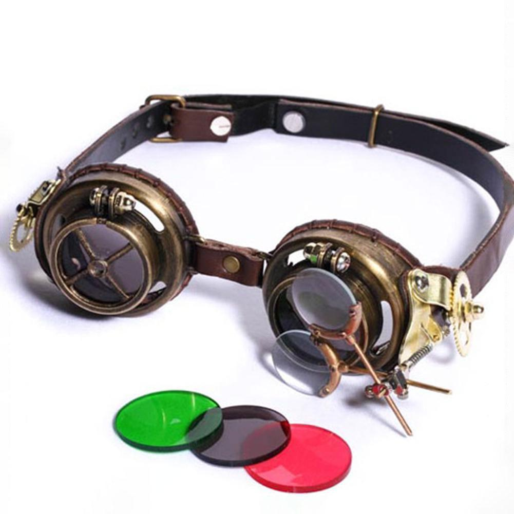 MadBurner Retro Gothic Multi-lens Glasses