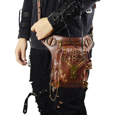 MadBurner Shoulder bag with Gold Detail