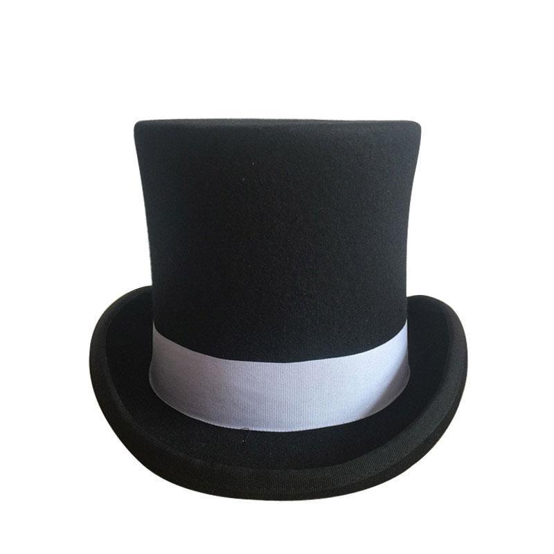 MadBurner Tall Black Fedora