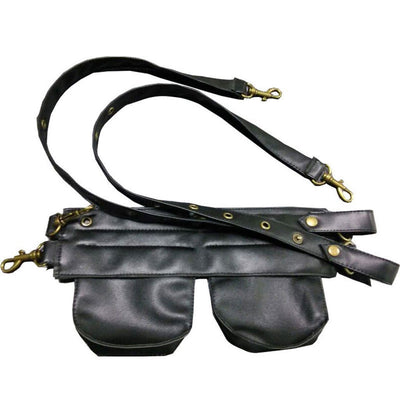 Victorian Steampunk Fashion Mad Burner Small Waist Bag