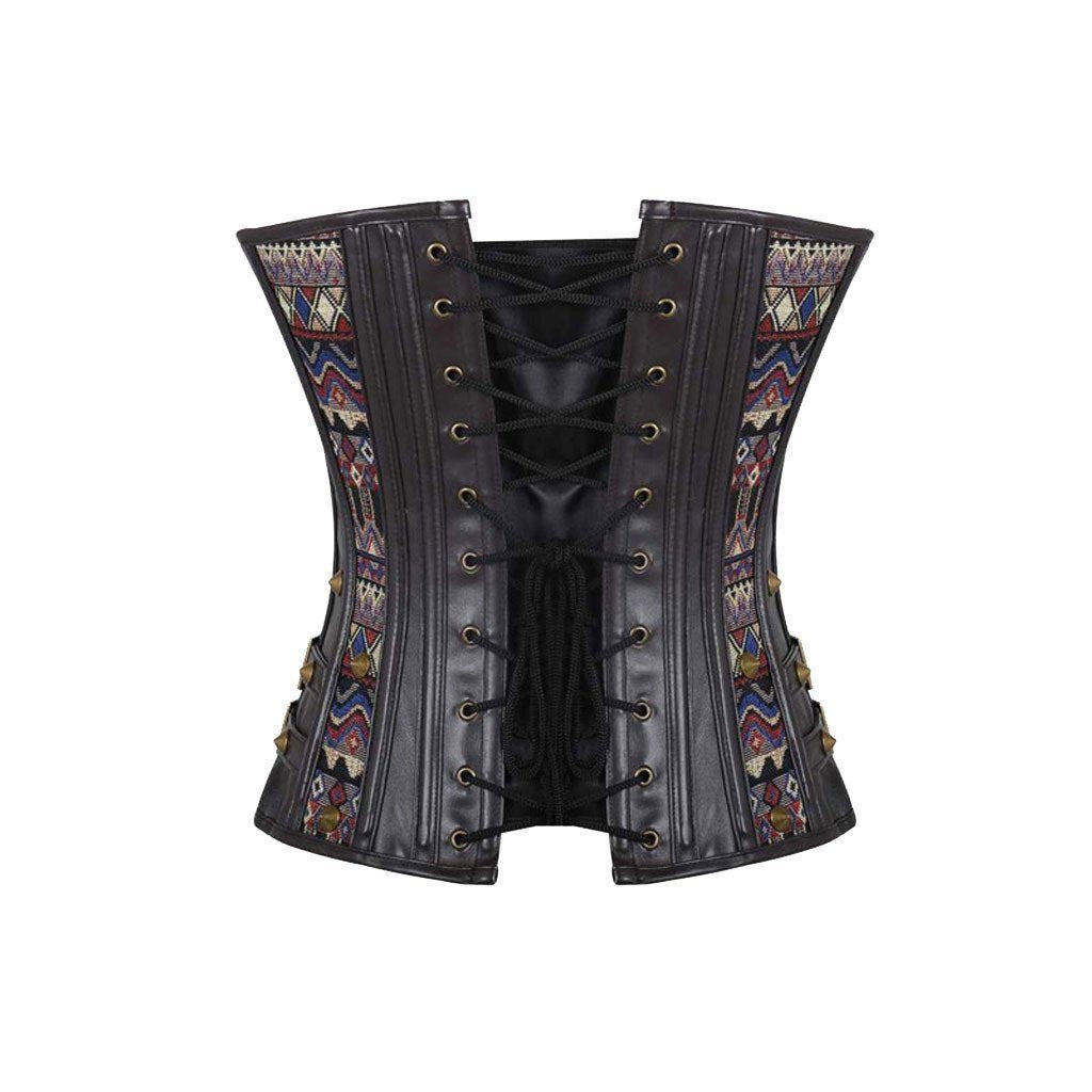 Victorian Steampunk Fashion Mad Burner Steampunk Patterned Corset